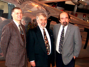 Corrigan, Head & Gillespie at Press Conference